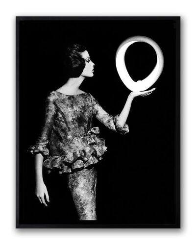 William Klein, 'Dorothy + Big White Circle, Paris', 1962