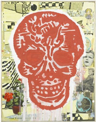 Donald Baechler, 'Red Skull', 2005