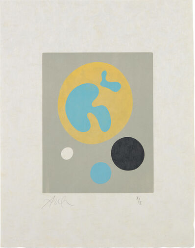 Jean Arp, 'Le Soleil recerclé (Around the Sun): plate 13', 1962-65