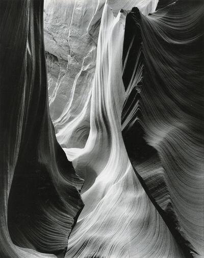 Bruce Barnbaum, 'Wall with Two Ridges, Lower Antelope Canyon', 1983