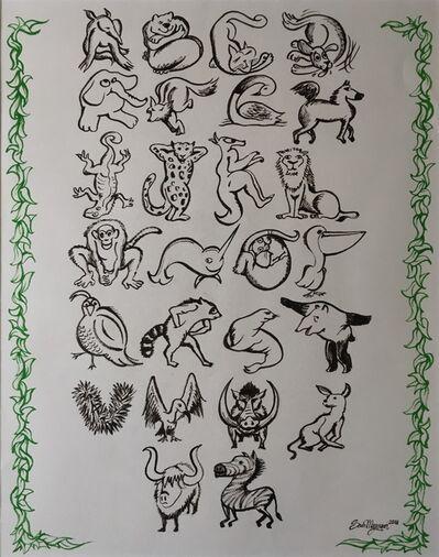 Sam Meyerson, 'Animal Alphabet', 2018