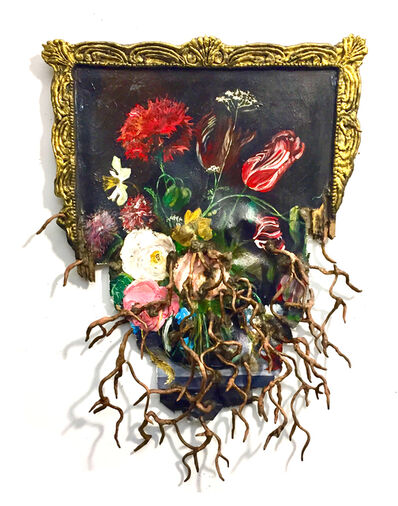 Valerie Hegarty, 'Dutch Flower with Roots', 2018