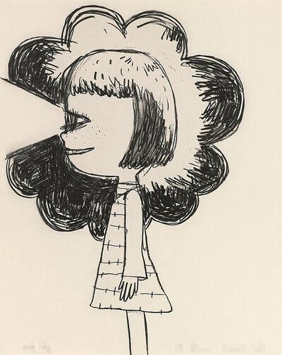 Yoshitomo Nara, 'Flashlight Girl', 2002-2004