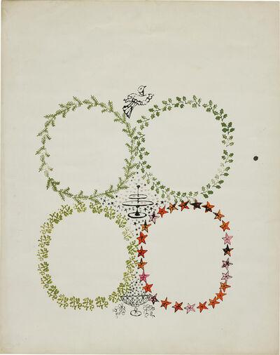 Andy Warhol, 'Christmas Invitation Design', circa 1956