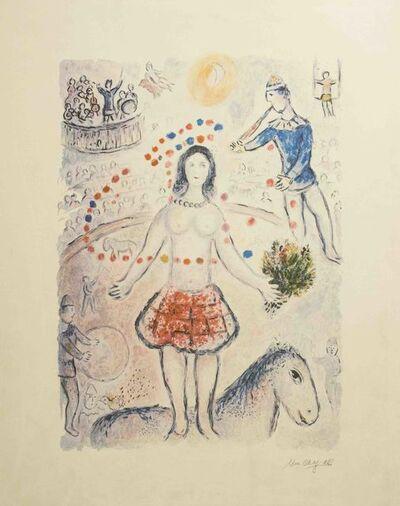 Marc Chagall, 'Danseuse au Flutiste', ca. 1985