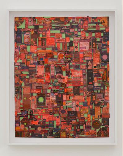 Leda Catunda, 'Coisas para Comprar III [Things to Buy III]', 2017
