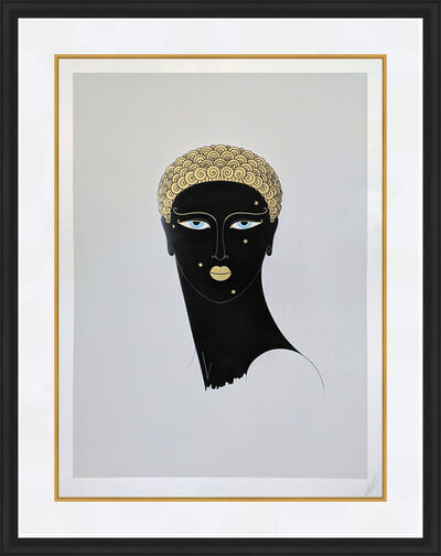 Erté (Romain de Tirtoff), 'QUEEN OF SHEBA', 1980