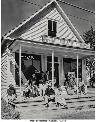 Berenice Abbott, 'Milken's General Store, Bridgewater, Maine', 1954