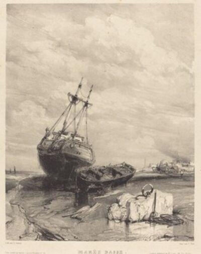 Eugène Isabey, 'Marée Basse', 1833