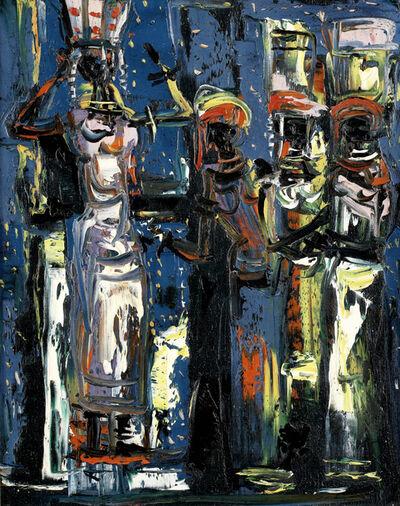 Walter Battiss, 'Figures'