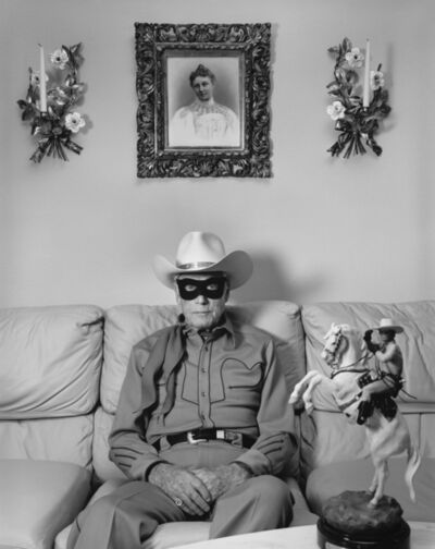 "Mary Ellen Mark, 'Clayton Moore, the Former ""Lone Ranger,"" Los Angeles, California', 1992"