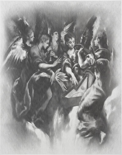 Egor Ostrov, 'Musician Angels (after El Greco)', 2018