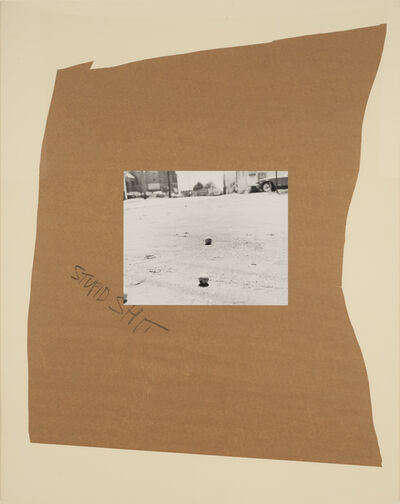 John Gossage, 'Stupid Shit', 1989
