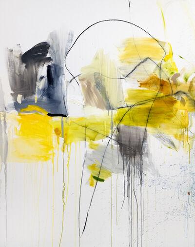 Vicky Barranguet, 'Yards of Love II B (yellow,gray)', 2020
