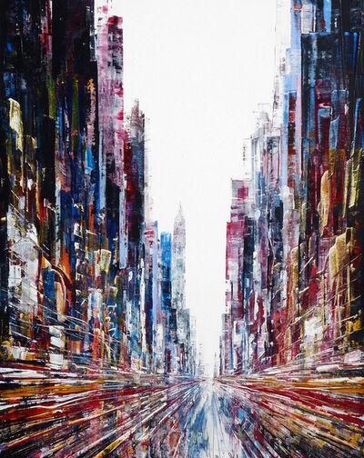 Henri Dulm, 'Juke Box Street', 2017