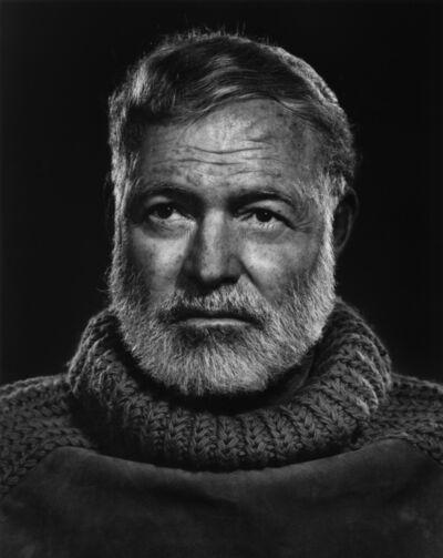 Yousuf Karsh, 'Ernest Hemingway', 1957