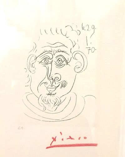 Pablo Picasso, 'Untitled (Man)', ca. 1960