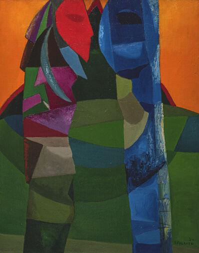 Felrath Hines, 'Totem', 1950