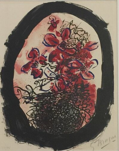 Georges Braque, 'Frontispiece from Braque Lithographe', 1961