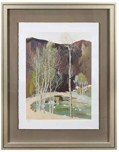 Wu Guanzhong, 'Wu Guanzhong limited edition print', 1974