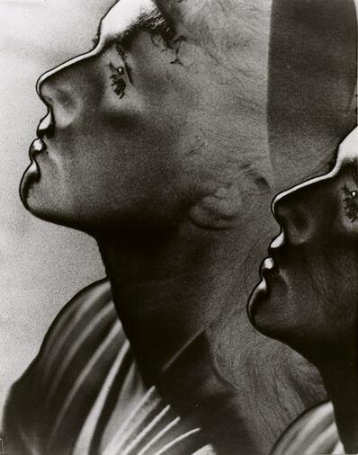 Man Ray, 'Solarized Double Profile, Paris', 1932