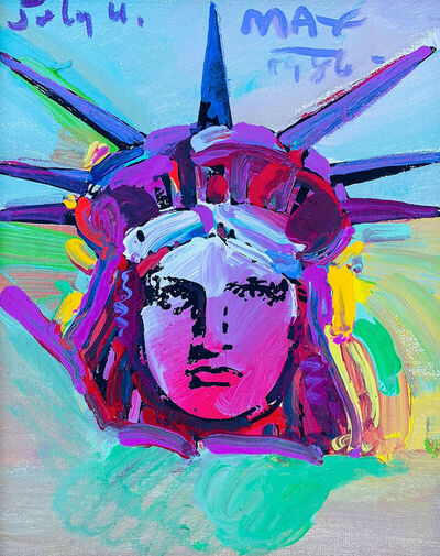 Peter Max, 'Liberty Head', 1976