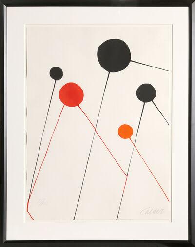 Alexander Calder, 'Balloons', 1968