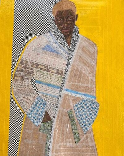 Serge Attukwei Clottey, 'Cheddar', 2020