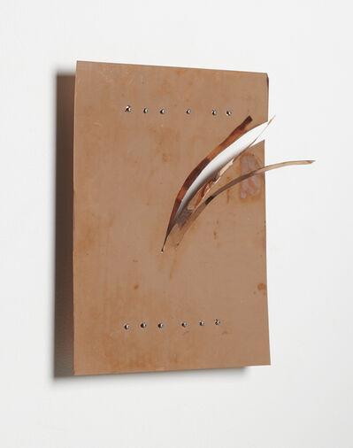 Kishio Suga 菅木志雄, ' Split Border (Surroundings of Lake)', 1998