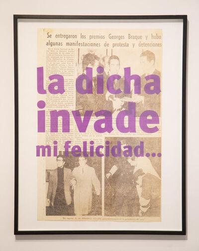 Roberto Jacoby, '¡1968, el culo te abrocho! / Your Ass I Wait', 2008