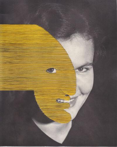 Maurizio Anzeri, 'Untitled (yellow)', 2019