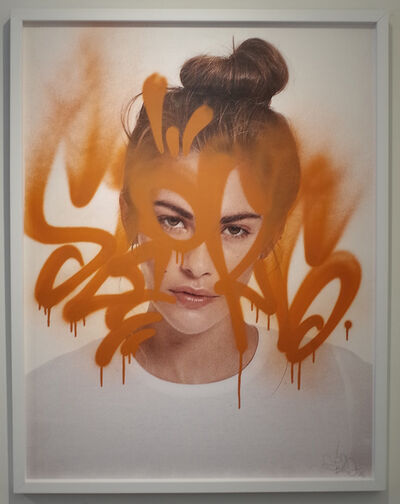 Rafael Sliks, 'La Belle Clara (Orange)', 2018