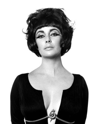 "Bert Stern, 'Elizabeth Taylor as ""Cleopatra"", Rome', 1962"