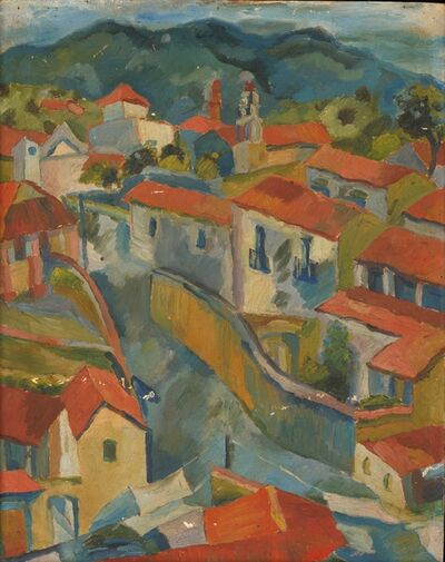 Mildred Elfman Greenberg, 'Mexican Houses (Pre-W.P.A. #28) ', 1939