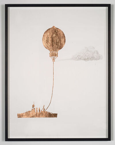 Caroline Rothwell, 'Tethered Marine Balloon Particle Injector', 2014