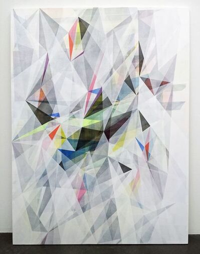 Irena Eden & Stijn Lernout, 'o.T (120.90.2.14), acrylic on canvas, 120 x 90 cm', 2014