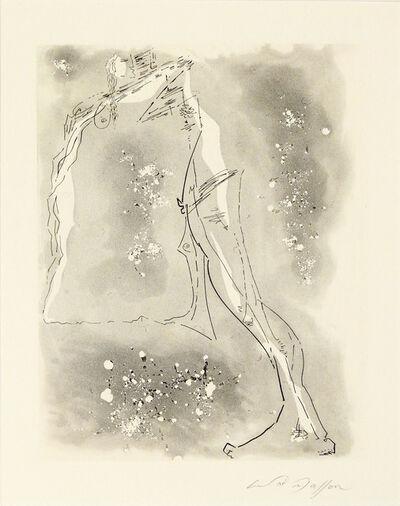André Masson, ' Le Pas - série des trophées érotiques', 1962