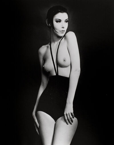 William Claxton, 'Peggy Moffitt in Rudi Gernreich, Topless Swimsuit', 1964