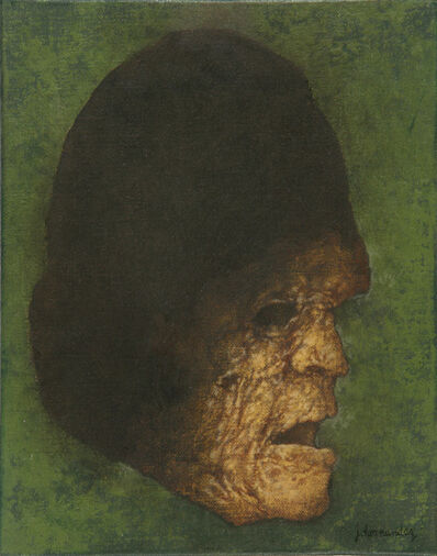 "José Hernández, '""Perfil sombra III""', 2007"