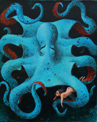 Sylvain Lefebvre, 'Georgia and the Blue Octopus', 2021