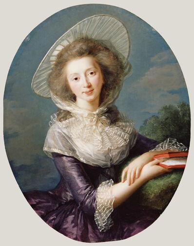 Élisabeth Louise Vigée-Le Brun, 'The Vicomtesse de Vaudreuil', 1785