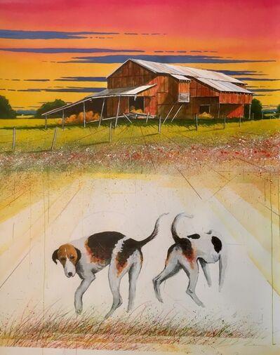 William Dunlap, 'Gin Dog - Matching Pair '