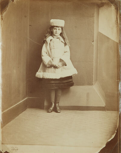 "Lewis Carroll, 'Xie (Alexandra) Kitchin as a ""Dane""', ca. 1876"