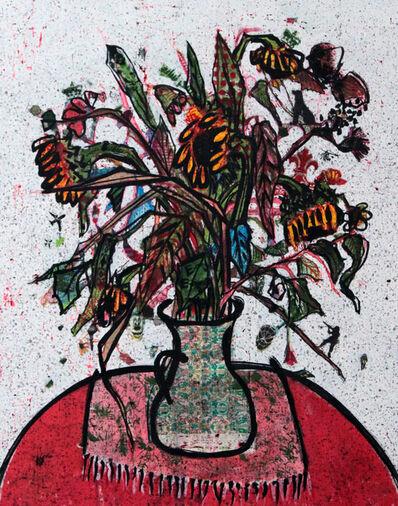 Zena Assi, 'Put it in a green liberty vase', 2020