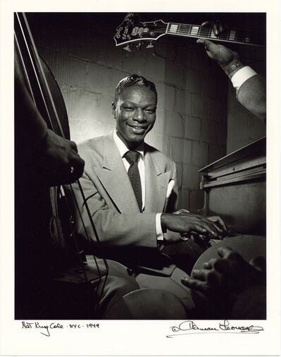 Herman Leonard, 'Nat King Cole, New York, 1949', 1949
