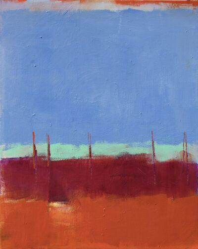 Maureen Chatfield, 'Blue Woods', 2018