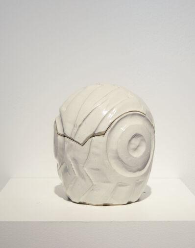 CARLOS RUNCIE TANAKA, 'Caja de Sueños Mediana Blanca Tallada'