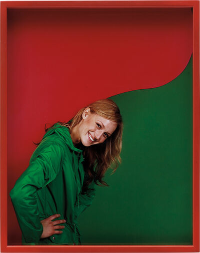 Elad Lassry, 'Girl (Green/Red)', 2011