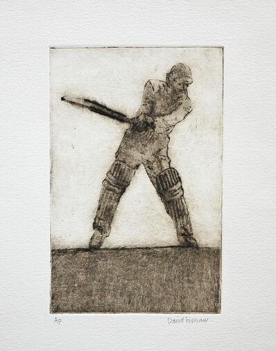 David Inshaw, 'Mark Martin Batting', 2010