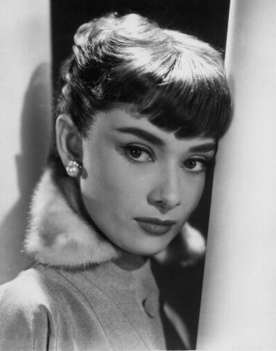 "Bud Fraker, 'Audrey Hepburn ""Roman Holiday"", an Archival Print', 1953"
